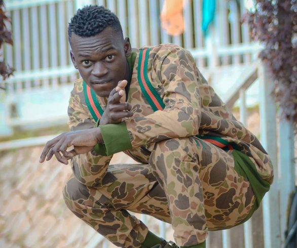 Fresh Kid's Writer also a Rapper 14K Bwongo
