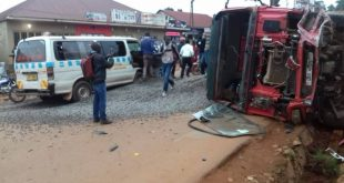 Ntinda Kiwatule Road Accident