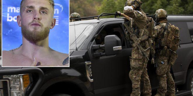 Jake Paul's neighbors heard 'mysterious explosions' before FBI raid