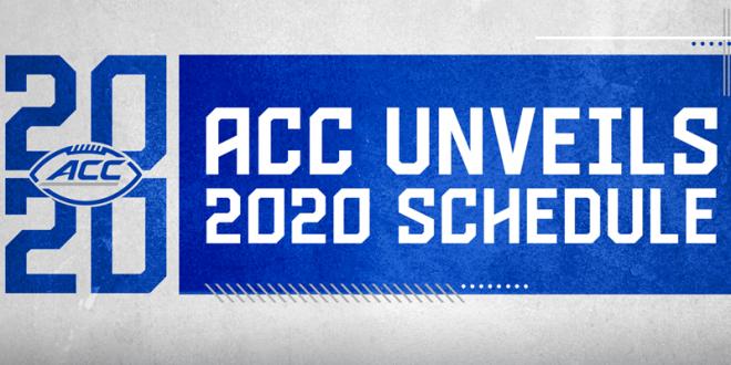 ACC Unveils 2020 Football Schedule