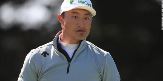 Haotong Li 'surprised' to be leading golf major and surprised by questions about President Trump