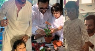 FIVE unmissable moments of Saif Ali Khan with his son Taimur Ali Khan during the lockdown