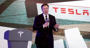 Tesla's Musk hints of battery capacity jump ahead of industry event
