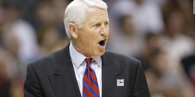 Legendary Arizona basketball coach Lute Olson dies at 85