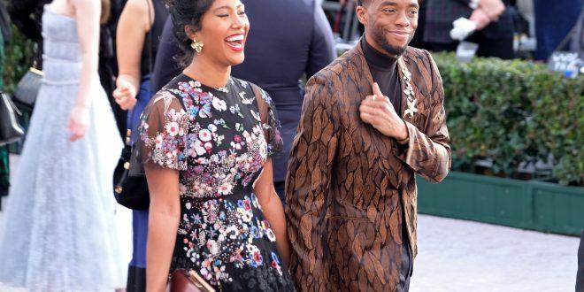 Chadwick Boseman And Taylor Simone Ledward: Their Love In Pics