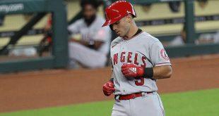 A's acquire infielder La Stella in trade with Angels for Barreto