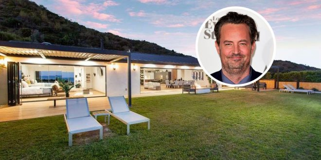 Matthew Perry Downsizes Into Pacific Palisades Cottage