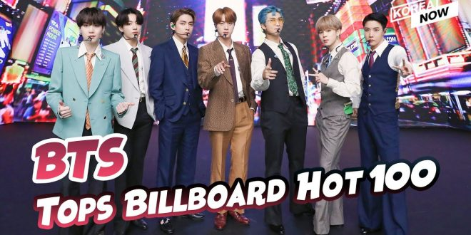 BTS writes another K-pop history; conquering Billboard's Hot 100 for the first time with 'Dynamite'