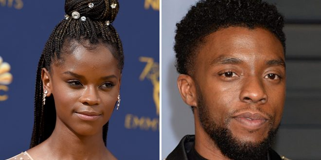 """'Black Panther' Star Letitia Wright Shares Moving Eulogy For Chadwick Boseman: """"You're Forever In My Heart"""""""