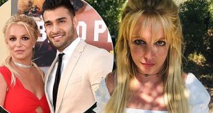 Britney Spears' boyfriend Sam Asghari leaps to her defense after commenter calls her posts 'scary'
