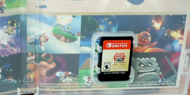 Get A Closer Look At Super Mario 3D All-Stars In This Nintendo Unboxing Video