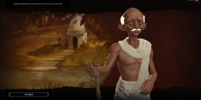Sid Meier Confirms Nuclear Gandhi Is Sadly Just A Myth