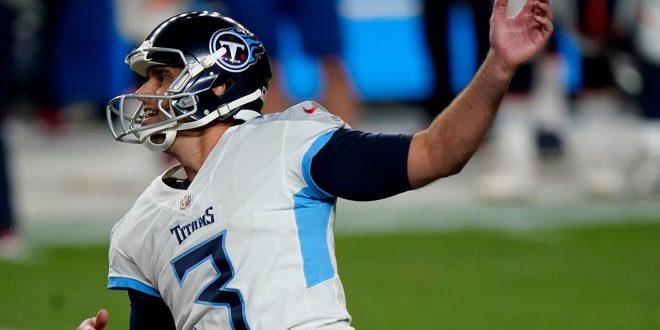 Titans' Stephen Gostkowski hits game-winning field goal after missing four kicks during game vs. Broncos