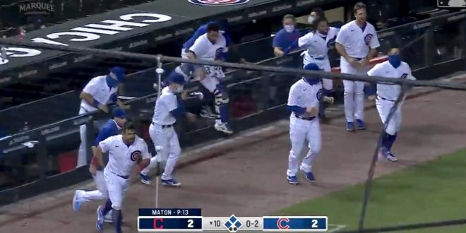 Cubs Walk It Off Against the Indians for the Second Night In a Row! Javy Báez Comes Through! (VIDEO)