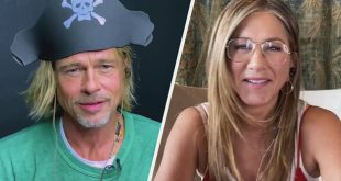 """Brad Pitt And Jennifer Aniston Sure Had A Memorable Reunion During The """"Fast Times At Ridgemont High"""" Table Read"""