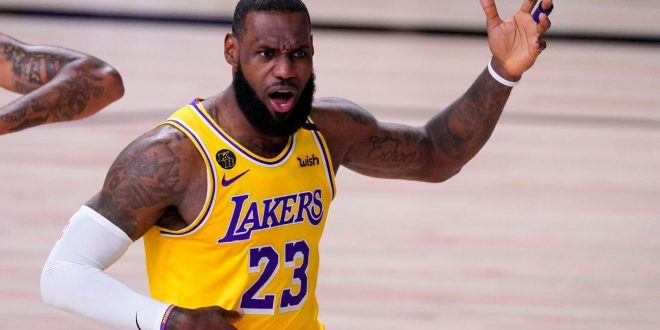 Los Angeles Lakers' LeBron James says MVP voting totals 'pissed me off'