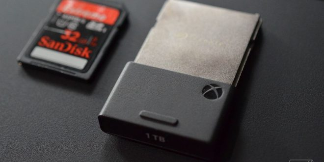 Microsoft's Xbox Series X 1TB expandable storage priced at $219.99