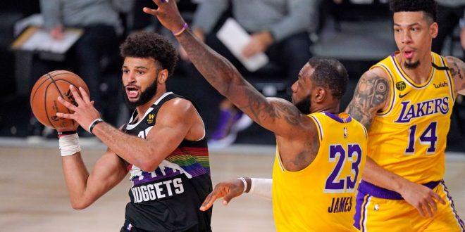 Los Angeles Lakers' LeBron James shuts down Jamal Murray in 'winning time'