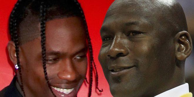 Michael Jordan Gave Travis Scott Blessing To Shoot Music Vid At Illinois Mansion