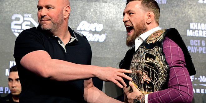 Dana White says Conor McGregor's leak of private DMs broke 'man code'