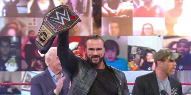 WWE Raw results, recap, grades: Drew McIntyre holds open challenge, Mysterio family drama escalates