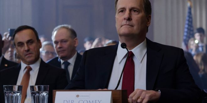"""Jeff Daniels and Billy Ray didn't want The Comey Rule to be """"a Hollywood liberal hit job"""""""