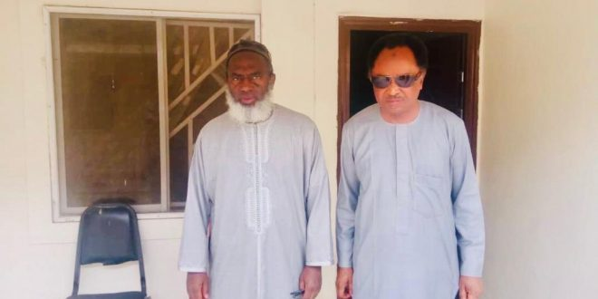 Shehu Sani visits Gumi, urges cleric to help free kidnapped students