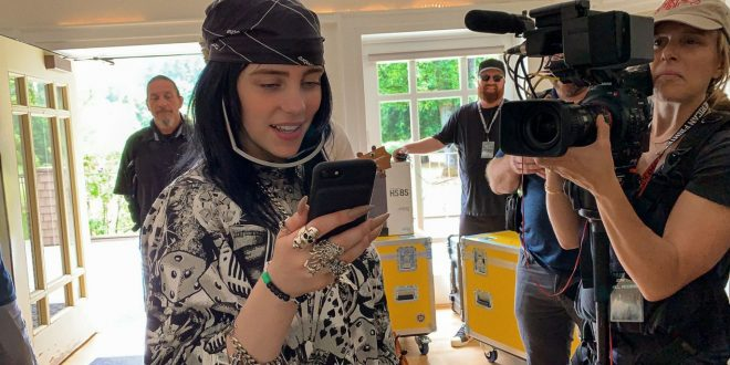 The World's A Little Blurry For Billie Eilish. Director R.J. Cutler Found Clarity
