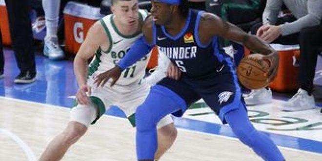 Tatum scores 27 points, Celtics rally to beat Thunder 111-94