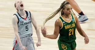 Which teams will join UConn and Arizona in the Women's Final Four?