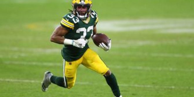 Aaron Jones hungry after re-signing with Packers