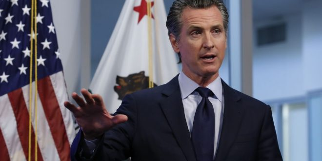 California Governor Launches Campaign Against Likely Recall