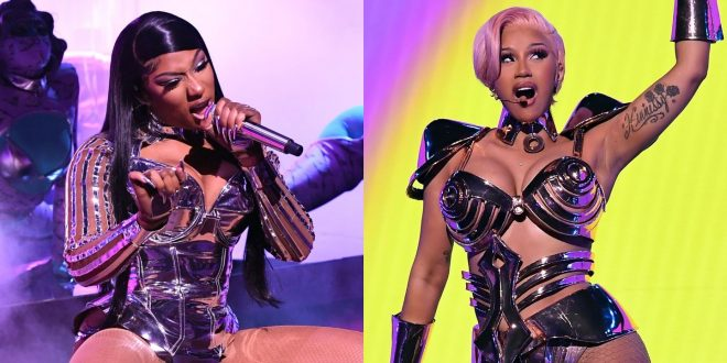 Cardi B And Megan Thee Stallion's Grammys 'WAP' Debut Came With A Warning