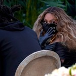 Beyonce Gets Up Close and Personal With Jay-Z & Megan Thee Stallion in Her Grammy Pics