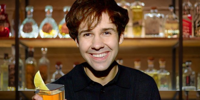 YouTuber David Dobrik Angling to Start His Own Tequila Biz