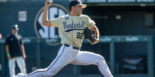 Leiter throws no-hitter in No. 2 Vanderbilt's win