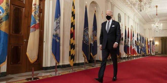 President Joe Biden faces questions on COVID-19, gun control, immigration in first full news conference