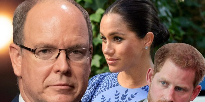 Prince Albert Calls Out Meghan Markle, Prince Harry for Oprah Interview