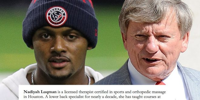 Deshaun Watson Case, 18 Masseuses Issue Statements Supporting QB, 'Never Inappropriate'