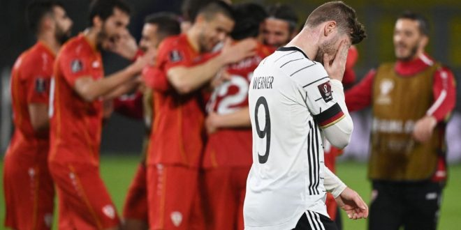 Germany's Low slams Werner's flub in shocking loss