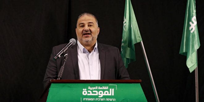 Leader of Israeli Islamic party demands 'different reality' after election