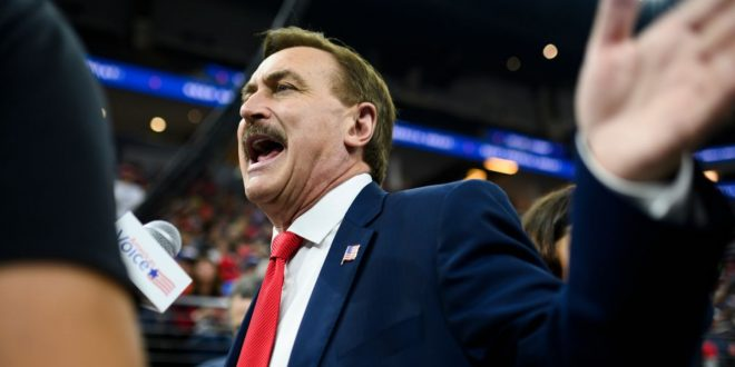 Donald Trump and Mike Lindell Should Cage Fight Over Whose New Social Media Site Is Actually Real