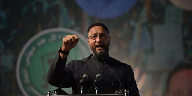 Owaisi says Mamata did not care to improve lot of Muslims in Bengal