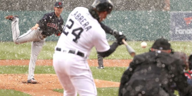 Opening Day takeaways: The Bellinger homer that wasn't, Cabrera swinging in snow and much more