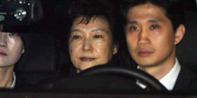 S. Korea's ex-president Park arrested following impeachment over corruption scandal