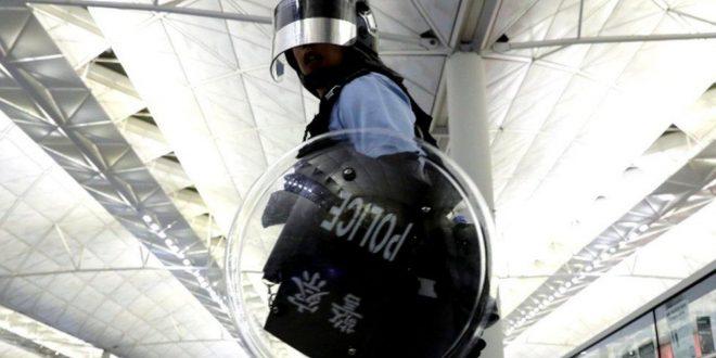 China is 'trampling on Hong Kong's democracy'
