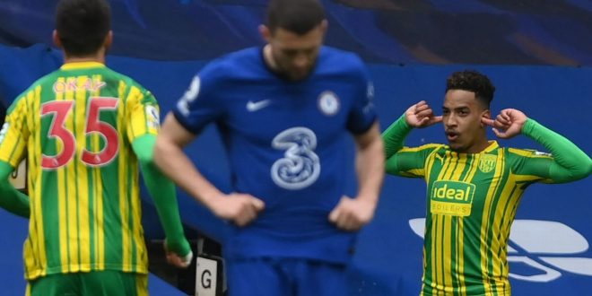 Relegation-threatened West Brom routs Chelsea