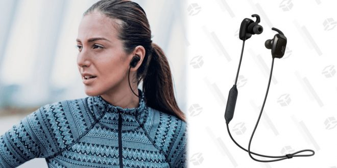 Up Your Running Game With an $18 Pair of Wireless Earbuds With Live Coaching