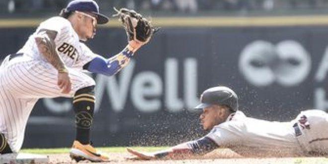 Bradley Jr. homers in Brewers' 8-2 defeat versus Twins