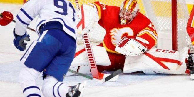 Matthews, Tavares score third-period goals for Maple Leafs in 4-2 win over Flames